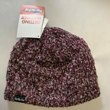 Turtle Fur Rustic Beanie Winter Hat Amethyst Purple - New with Tags!