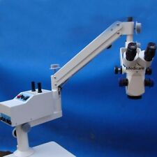 SURGICAL DENTAL EXAMINATION MICROSCOPE - PORTABLE - 3 STEP MAGNIFICATION A