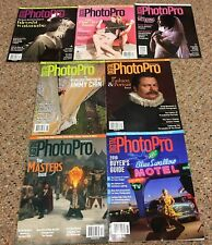 Lot of 7 DIGITAL PHOTO PRO Magazines 2019-Complete Year-Buyer's Guide, Weddings