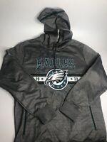 Philadelphia Eagles Men's Hoodie Size Large Gray NFL Team Apparel Pullover