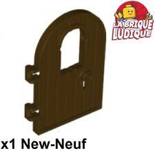 Lego 1x Door Porte 1x4x6 3 Panes carreaux fenêtre noir trans black 60797c02 NEUF