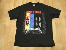 XL Vintage 1992 METALLICA GUNS N ROSES FAITH NO MORE Tour Shirt 90s rock rap