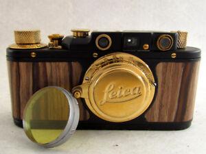 Leica II(D) Luftwaffe WWII Vintage Russia 35mm Camera + M39 Lens Elmar EXCELLENT