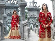 Anarkali Salwar Kameez Indian Pakistani Designer Lehenga Wedding Dress NI BL2 02