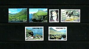 Faroe Islands -- 3 complete sets of used commemoratives -- cv $8.60