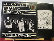 Souther Hillman Furay Band-Trouble in Paradise-QUAD Press- & inner Free UK Post