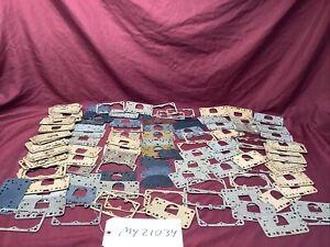 NOS LOT OF HOLLEY FUEL BOWL GASKETS & METERING PLATE GASKETS