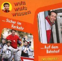 WILLI WILLS WISSEN: (3)SICHER IM VERKEHR/AUF DEM BAHNHOF CD KINDER-HÖRSPIEL NEU