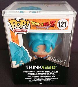 Funko POP Dragon Ball Goku Super Saiyan God Super Saiyan 121 Prem. Display case