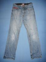 Superdry  - W30 L32 - Mens Blue Denim Jeans - Button-Fly - M151