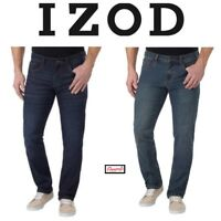 *SALE* IZOD Men's Comfort Stretch Straight Fit Jean VARIETY SIZE & COLOR! E32