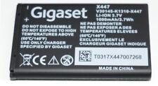 Nouveau Batterie d'origine pour gigaset sl910 sl910a sl910h v30145-k1310k-x447 Li-ion 3,7 V