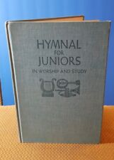 Hymnal for Juniors in Worship and Study (1966, Hardcover) Christina Hymnal VTG