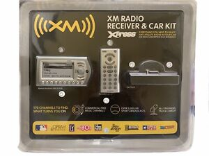 XM Radio Xpress Receiver & Car Kit XMCK10CB with Wireless Remote NEW