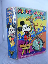 Mickey Mouse Annual 1935 - 'So Bracing!' - Illustrated HB 1934