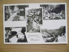 Real Photo Postcard- GREETING FROM CHEDDAR