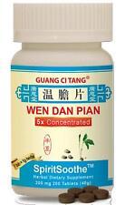 Guang Ci Tang, Wen Dan Pian,  SpiritSoothe, 200 mg, 200 ct