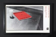 Ed Ruscha 1973 Exhibition Poster (framed) - Extremely Rare