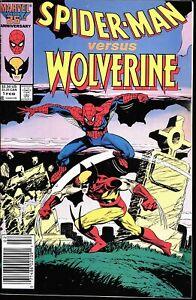 Spider-Man versus Wolverine Death of Ned Leeds, F/VF condition