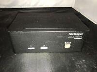 StarTech SV231DDVDUA   2-Port DVI VGA Monitor USB KVM Switch LOOK
