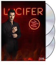 LUCIFER: SEASON 1 DVD - THE COMPLETE FIRST SEASON [3 DISCS] - NEW UNOPENED