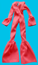 """1976 CHER FARRAH 12"""" mego doll -- STRAWBERRY -- JUMPSUIT with BELLBOTTOMS"""