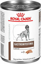 6 13.6 Oz Cans Royal Canin Gastro Intestinal Low Fat Dog Food Exp. Jan 2022