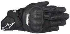 ALPINESTARS Handschuhe SP-5 Leder Motorrad Sporthandschuh schwarz Gr. M / 8