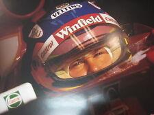 Poster Winfield Williams Mecachrome FW20 1998 #1 Jacques Villeneuve (CAN)