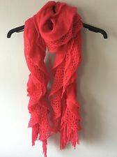 Dorothy Perkins Hot Pink Winter Wooly Scarf