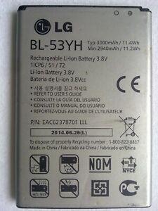 Original LG BL-53YH Li-Ion Battery 3.8V 3000mAh