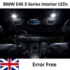 BMW E46 3 SERIES 1999-06 HID WHITE LED UPGRADE LIGHTING INTERIOR MAP LIGHT KIT