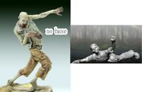 1/35 Resin 2 Walking Dead Walkers Unassembled Unpainted BL874