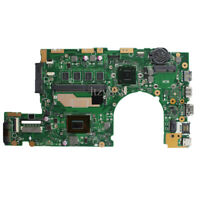 """For Asus For asus S400 S400CA S500CA Laptop motherboard 847U 4GB RAM 14"""" Rev 2.1"""