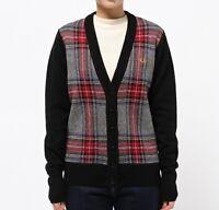 Fred Perry Women's Grey Stewart Longline Cardigan Ladies Sweater Jumper K7719