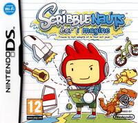 Scribble nauts pour console Nintendo DS, DSi, DS lite, jeu vendu en loose