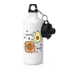 Avocado Plus Toast Sport Getränkeflasche Zelten Kolben - Lustig  Witz