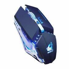 Rechargeable Gaming Mouse Wireless Optical Mouse Silent LED Ergonomic 1600DPI