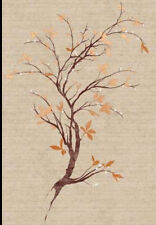 Serenity Branch Wallpaper Mural in Rich Earth Tones  CC9501M