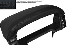 BLACK LEATHER SPEEDO BINNACLE LEATHER SKIN COVER FITS LAND ROVER DISCOVERY 96-04