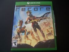 Replacement Case (NO  GAME) RECORE XBOX ONE 1 XB1 100% ORIGINAL