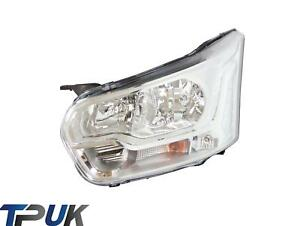 FORD TRANSIT MK8 HEADLIGHT LEFT QUAD BEAM 2014 ON + FRONT FLASHER LAMP HEADLAMP