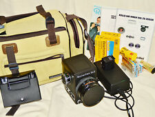 Rolleiflex Slx, Medium Format SLR Camera 6x6, Planar 1:2,8 For = 80mm, Akku, Bag