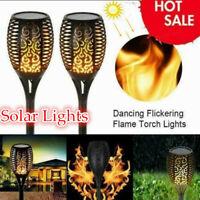 Solar Flame Lamp Flackern Wasserdicht Led Gartendekoration Landschaftslicht DIY