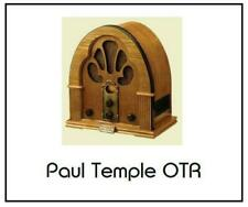 The Adventures of Paul Temple 6 Old Time Radio Episodes Audio on 6 CD OTR