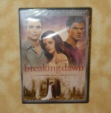 NEW Twilight Breaking Dawn part 1 DVD Two Disc Special Edition Factory Sealed