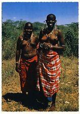 East Africa WOMEN w JEWELRY Masai FRAUEN m SCHMUCK Kenya * 60s Ethnic Nude PC