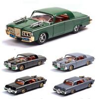 The Green Hornet Car 1:43 Chrysler Imperial Pull Back Alloy Car Sound Light Toys