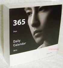 Fahrenheit Aaron Yan The Moment Taiwan Promo 2013-year daily calendar