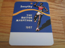 101st Boston Marathon April 1997 Finish Line Lami